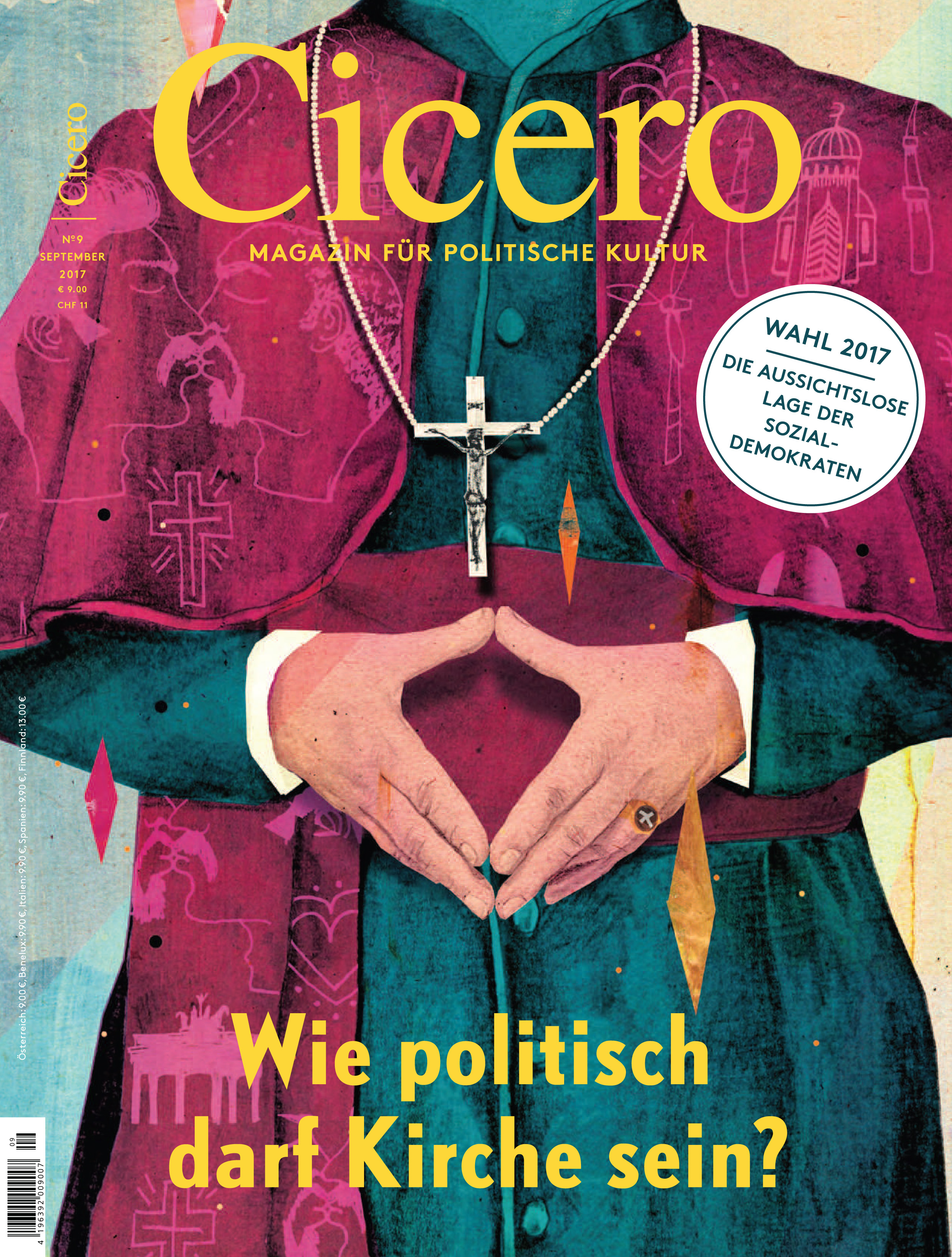 Cicero-Septemberausgabe