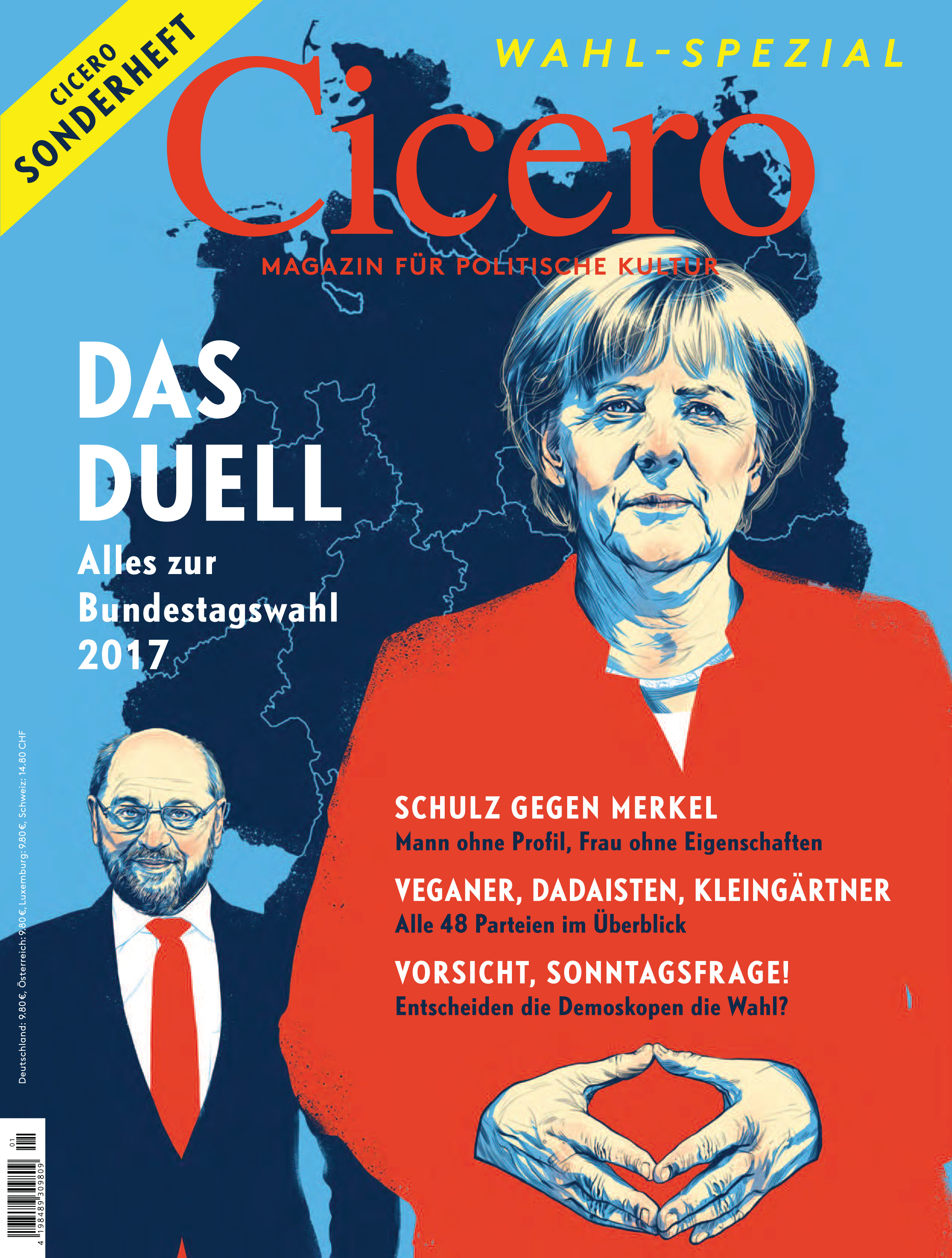 Cover Wahlsonderheft