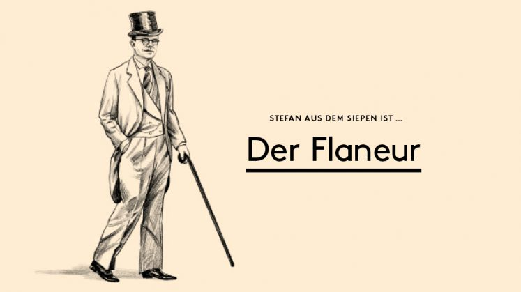 Illustration Kolumne Der Flaneur