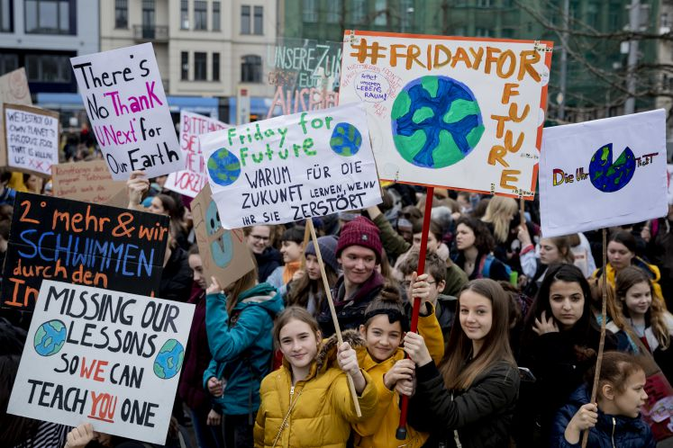 FridaysForFuture-Demonstration