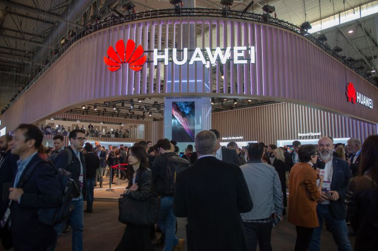 Huawei auf dem Mobile World Congress