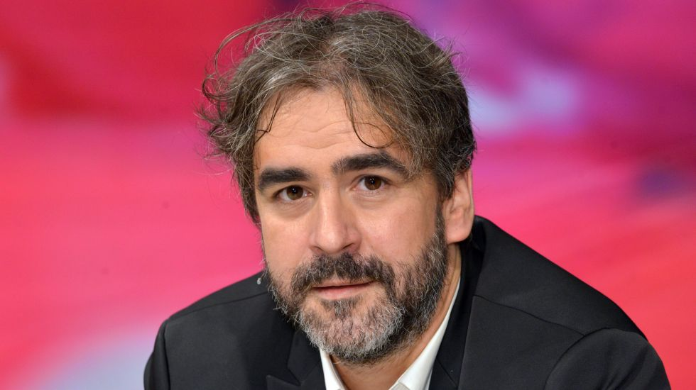 "Journalist Deniz Yücel während der ZDF-Talksendung ""Maybrit Illner"""