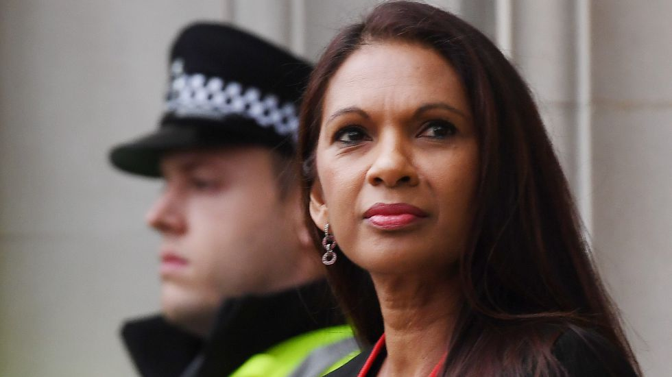Gina Miller vor dem Supreme Court in London