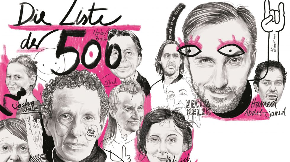 Illustration Cicero Ranking der 500 wichtigsten Intellektuellen