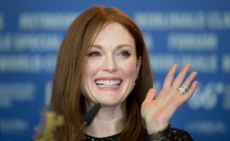 Schauspielerin Julianne Moore in Berlin